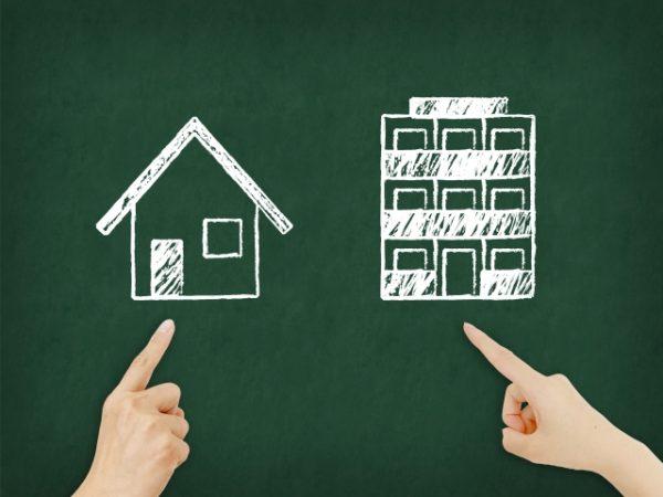 マンションと戸建て、風水的にはどちらが良いの?